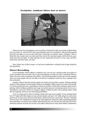 Dallan Beck: The Musician's Guide to Recording Acoustic Guitar: Gitarre oder Laute