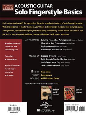 Acoustic Guitar Solo Fingerstyle Basics: Guitar