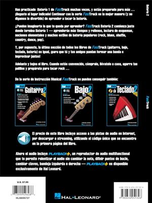 FastTrack - Bateria 2 (ESP): Drums and Percussion