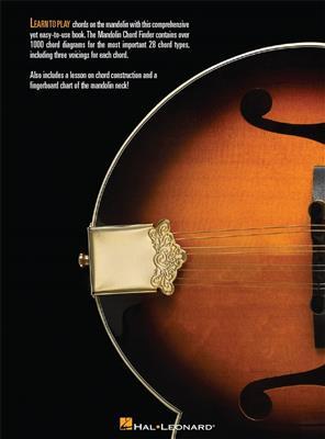 Mandolin Chord Finder (9 Inch. x 12 Inch. Edition)