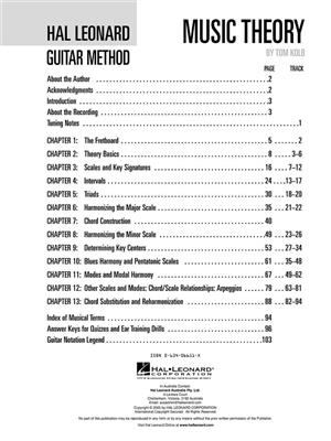 Hal Leonard Guitar Method: Guitar or Lute