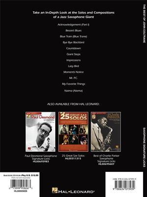 John Coltrane: The Best of John Coltrane: Saxophone