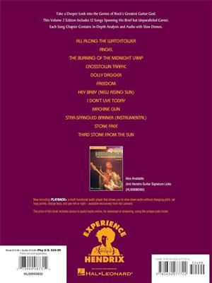Jimi Hendrix: Jimi Hendrix Vol. 2A : Guitar