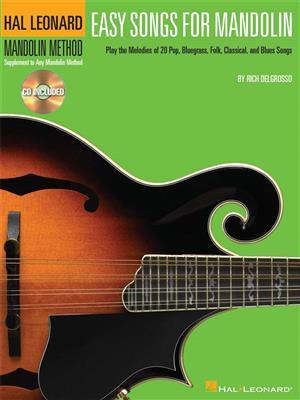 Easy Songs for Mandolin: Mandolin