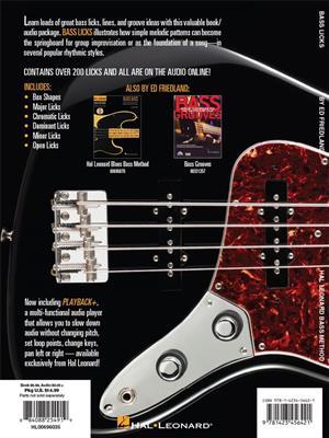 Hal Leonard Bass Method - Bass Licks