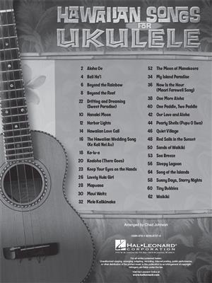 Hawaiian Songs for Ukulele: Ukulele