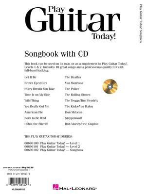 Play Guitar Today! Songbook: Guitar