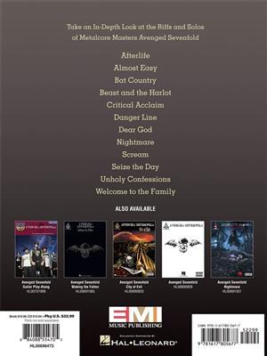 Avenged Sevenfold Signature Licks Guitar