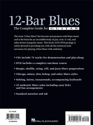 12-Bar Blues - The Complete Guide For Guitar