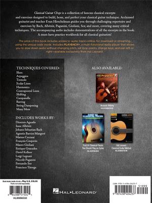 Evan Hirschelman:Classical Guitar Chops