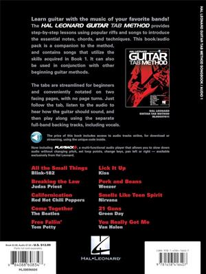 Hal Leonard Guitar Tab Method Songbook 1: Guitar TAB