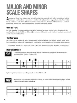 At A Glance - Scales & Modes For Bass