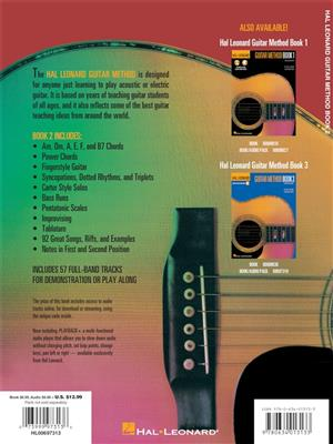 Hal Leonard Guitar Method Book 2: Guitar or Lute