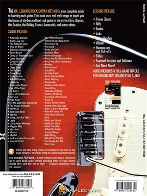 Hal Leonard Rock Guitar Method: Guitar or Lute