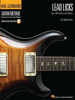 Greg Koch: Lead Licks: Guitar or Lute