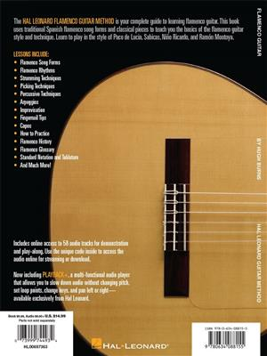 Hal Leonard Flamenco Guitar Method: Guitar or Lute