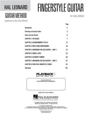 Fingerstyle Guitar Method: Guitar Solo