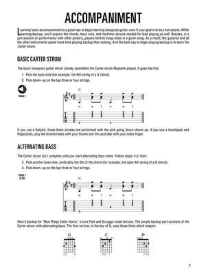 Hal Leonard Bluegrass Guitar Method: Guitar or Lute