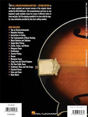 Hal Leonard Mandolin Method - Book 1 (2nd ed)