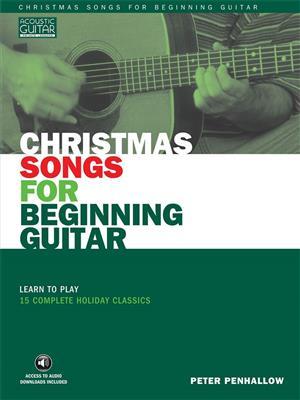 Christmas Songs for Beginning Guitar