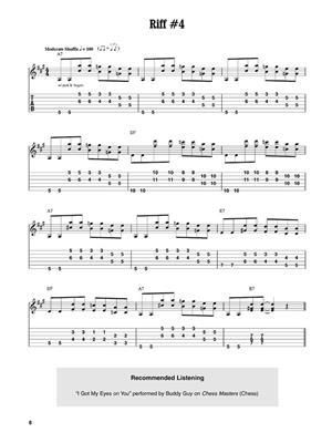 12-Bar Blues Riffs (Audio Download): Guitar