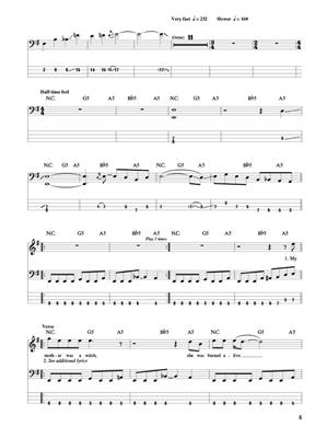 Hard Rock: Bass Guitar