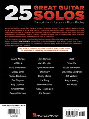 25 Great Guitar Solos: Guitar or Lute