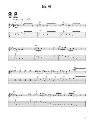 12-Bar Blues Solos: Guitar