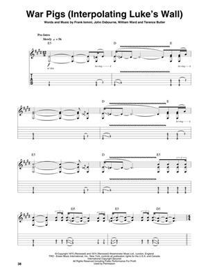 Howard Epstein: Black Sabbath: Guitar or Lute