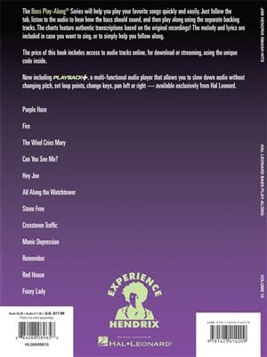 Jimi Hendrix: Jimi Hendrix Experience: Smash Hits: Bass Guitar