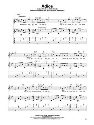 Fingerpicking Latin Favorites: Guitar or Lute