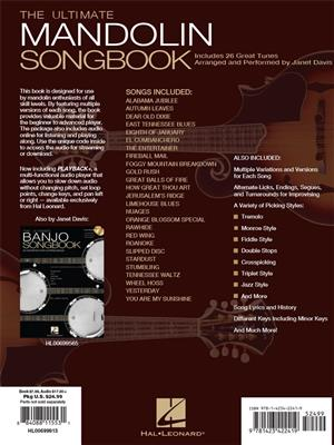 The Ultimate Mandolin Songbook: Arr. (Janet Davis): Mandolin