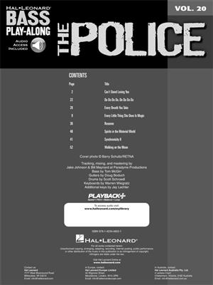 The Police: The Police: Bass Guitar