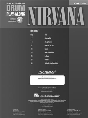 Nirvana: Nirvana: Drums and Percussion