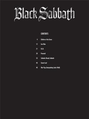 Howard Epstein: Black Sabbath: Drum Kit