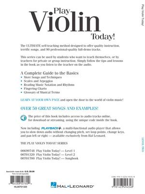 Play Violin Today! Level 2 (Book/CD)