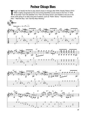 12-Bar Fingerstyle Blues: Guitar or Lute