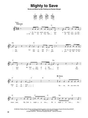 4-Chord Worship Songs for Guitar: Guitar