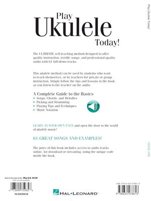 Play Ukulele Today! Beginner's Pack: Ukulele