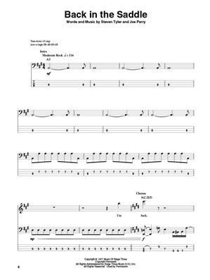Aerosmith: Aerosmith: Bass Guitar
