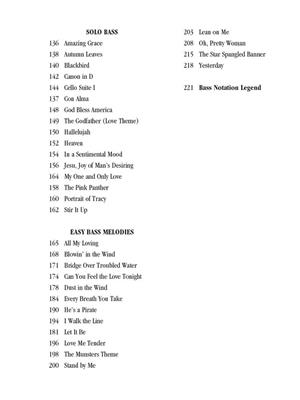The Ultimate Bass Songbook: Bass Guitar