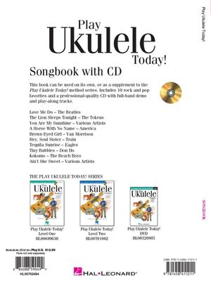 Play Ukulele Today! Songbook Instructional Series