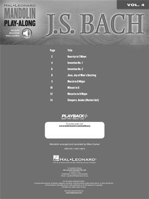 Johann Sebastian Bach: J.S. Bach: Banjo or Mandolin