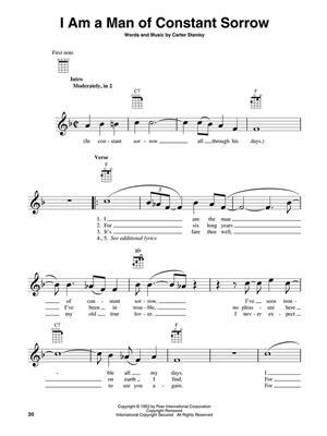 Bluegrass Songs for Ukulele: Ukulele