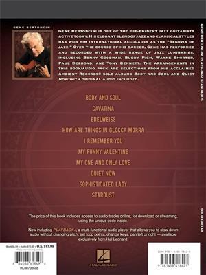 Gene Bertoncini Plays Jazz Standards: Arr. (Gene Bertoncini): Guitar