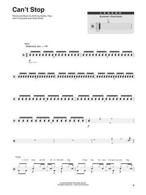 Red Hot Chili Peppers: Red Hot Chili Peppers: Drum Kit
