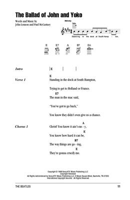 The Beatles: The Beatles Ukulele Chord Songbook: Ukulele