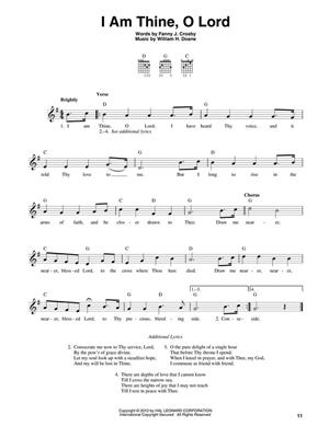 3-Chord Hymns For Guitar: Guitar