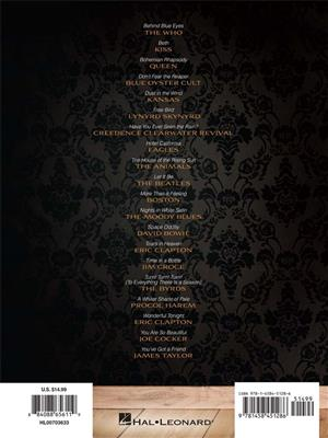 Classic Rock for Classical Guitar: Arr. (John Hill): Guitar