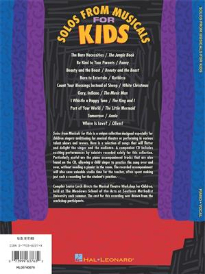 Solos from Musicals for Kids: Arr. (Louise Lerch): Voice
